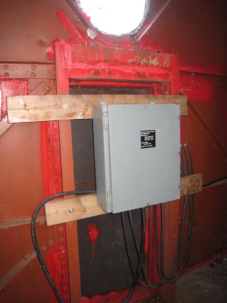 Second Story Door Electrical Panel Muskegon Lights